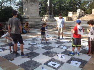 Human Chess @ Soldiers' & Sailors' Monument Plaza | New York | New York | United States