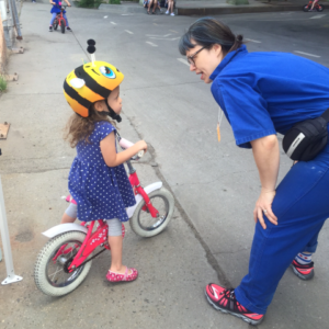 Learn to Ride! @ 135th St. and the Greenway (under the highway)