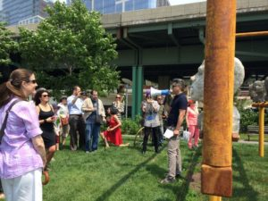 Model to Monument - Opening Ceremony & Tour @ Lawn at 145th Street