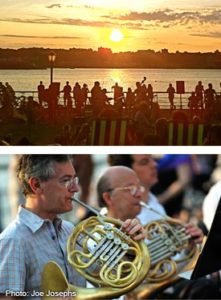 RCTA Sunset Concert: Classical @ 97th Street Tennis Court Lawn
