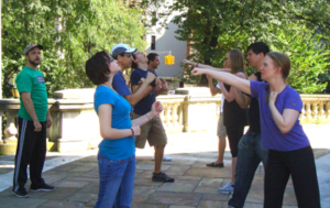 Hudson Warehouse Shakespeare Workout @ Soldiers' & Sailors' Monument Plaza