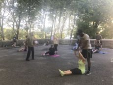 Riverside HIIT @ Terrace @ 108th Street  | New York | New York | United States